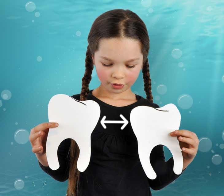Kinder Zahn Platzhalter